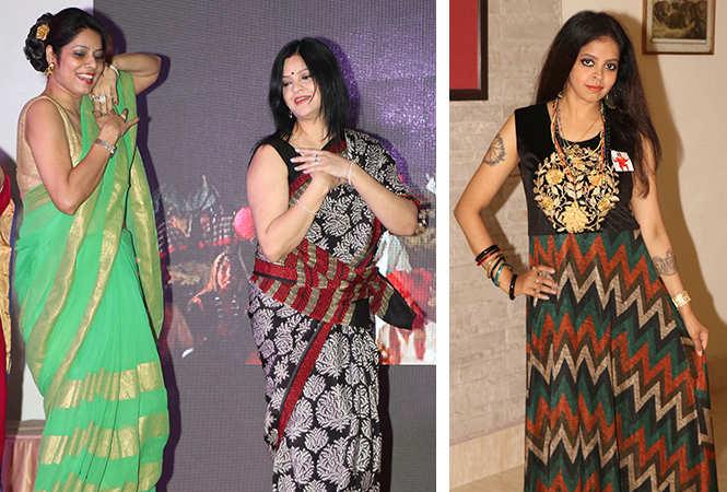 (L) Ruchi Khanna and Sunita Jaiswal (R) Shweta Singh (BCCL/ Unmesh Pandey)