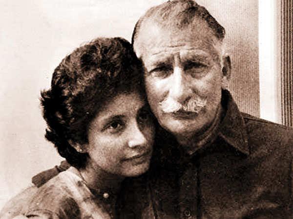 Maja Daruwala with her father Sam Manekshaw