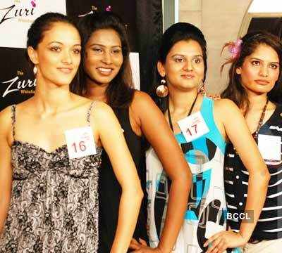 Contestants At Kingfisher Calendar Girl 2011 Auditions Held In Bangalore