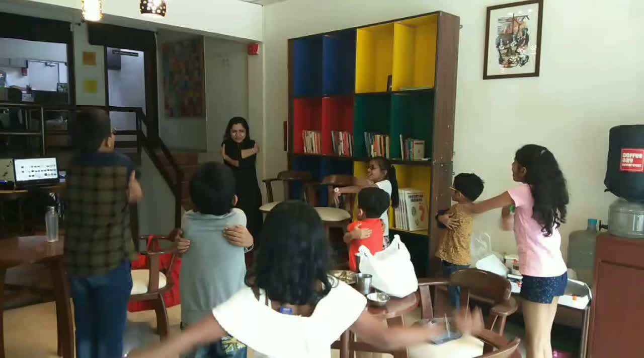 Kids learn to eat healthy and stay calm at this workshop