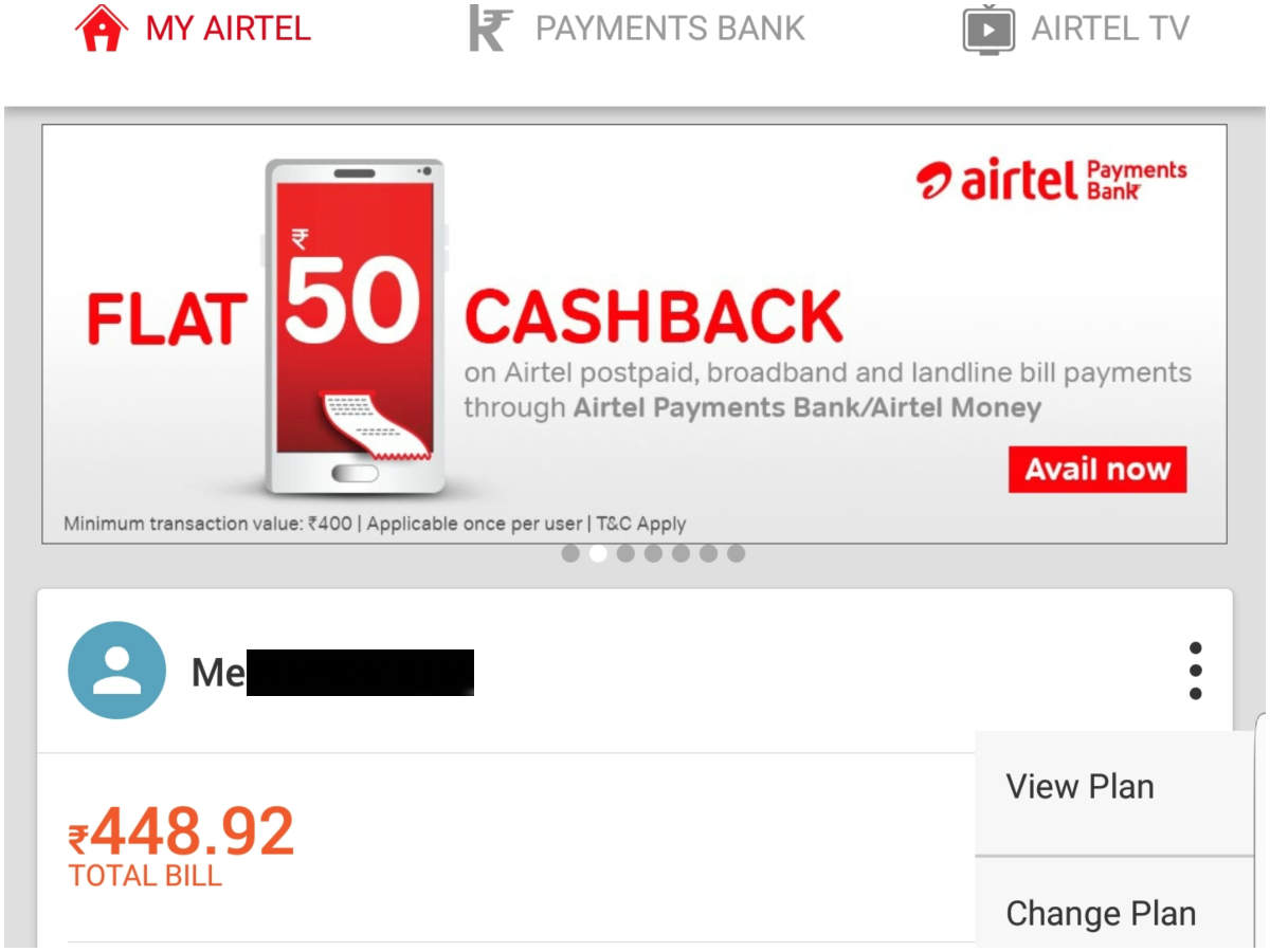 Airtel, Vodafone and Idea Postpaid Plan: How to change your