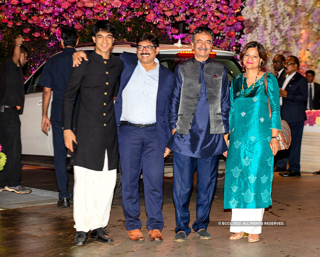 Best photos of Akash Ambani and Shloka Mehta's engagement celebrations
