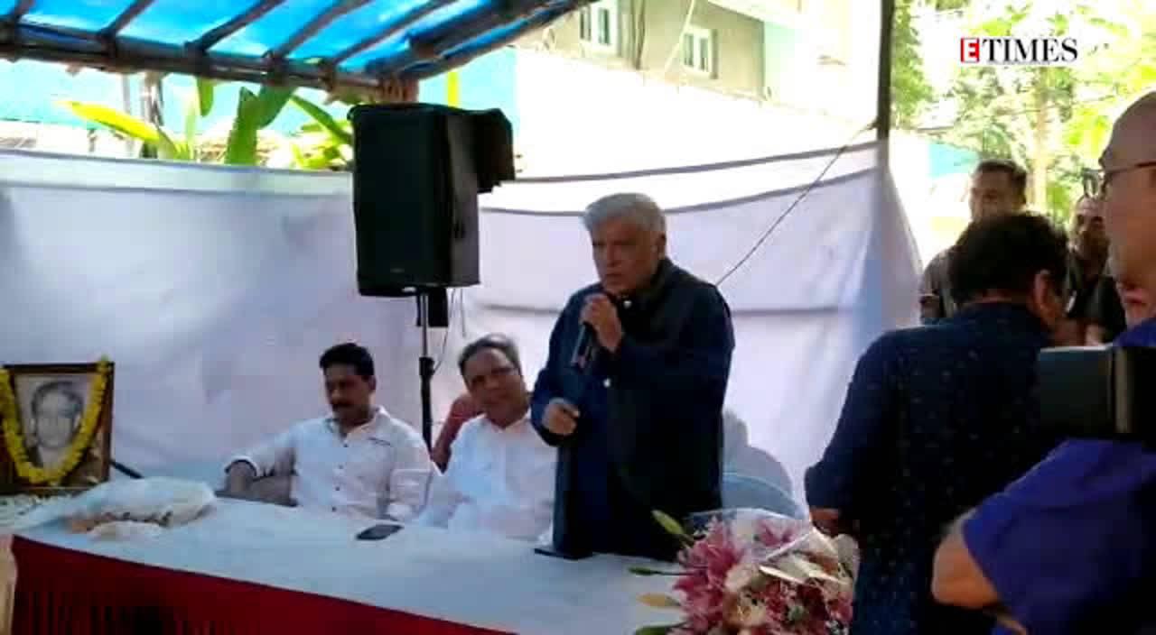 Celebrities at unveiling of Chitragupta Chowk in Mumbai's Bandra area