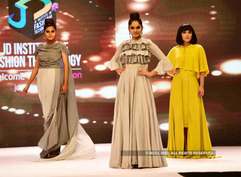 Models Walk The Ramp During A Fashion Show Organised By Jd Institute Of Fashion Technology Held At A Hotel In Kochi Photogallery
