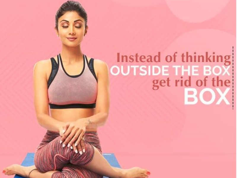 Shilpa Shetty Shares Her Fitness Thought In The Latest Instagram Picture