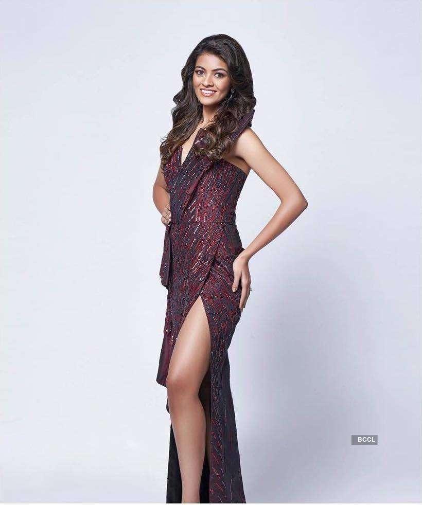 Miss India 2018: Shreya Rao Kamavarapu visits her School and College