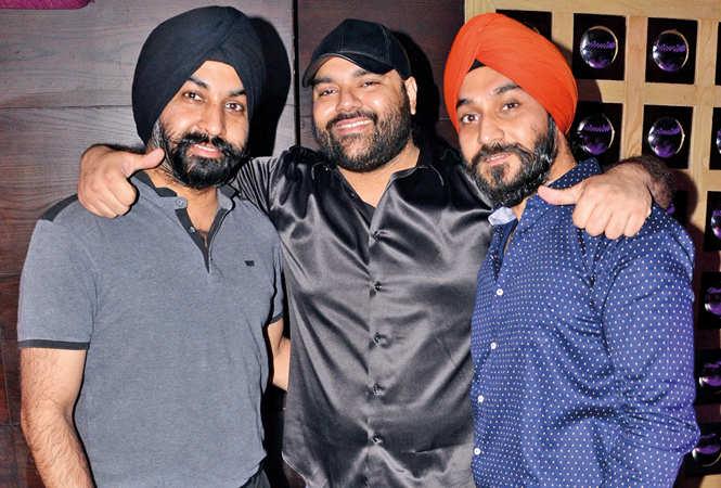 Harmanpreet, Jagveer and Swarndeep (BCCL/ IB Singh)