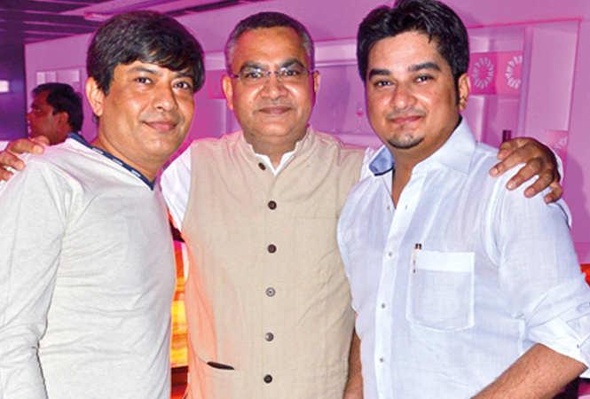 Alok, Pramod and Anuj (BCCL/ IB Singh)