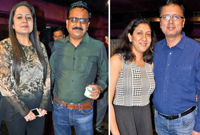 (L) Ekta and SK Gupta (R) Gauri and Abhinav (BCCL/ IB Singh)