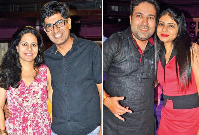 (L) Swati and Vivek (R) Vishal and Eesha (BCCL/ IB Singh)