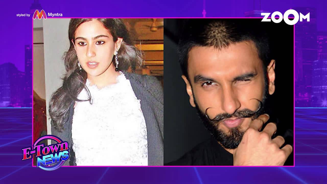 Ranveer Singh turns acting guru for Sara Ali Khan on 'Simmba' sets