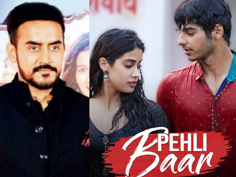 Dhadak Director Refers To Films New Song Pehli Baar As The