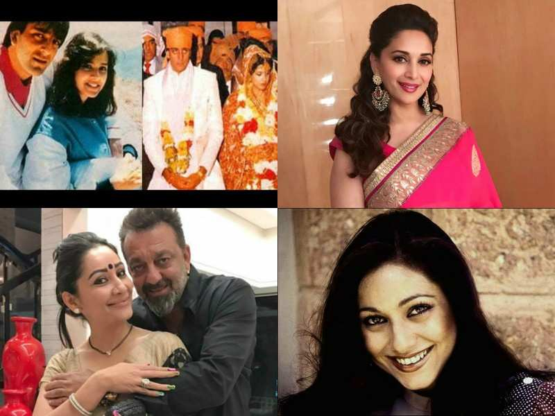 Image result for Sanjay Dutt and women he has dated over the years