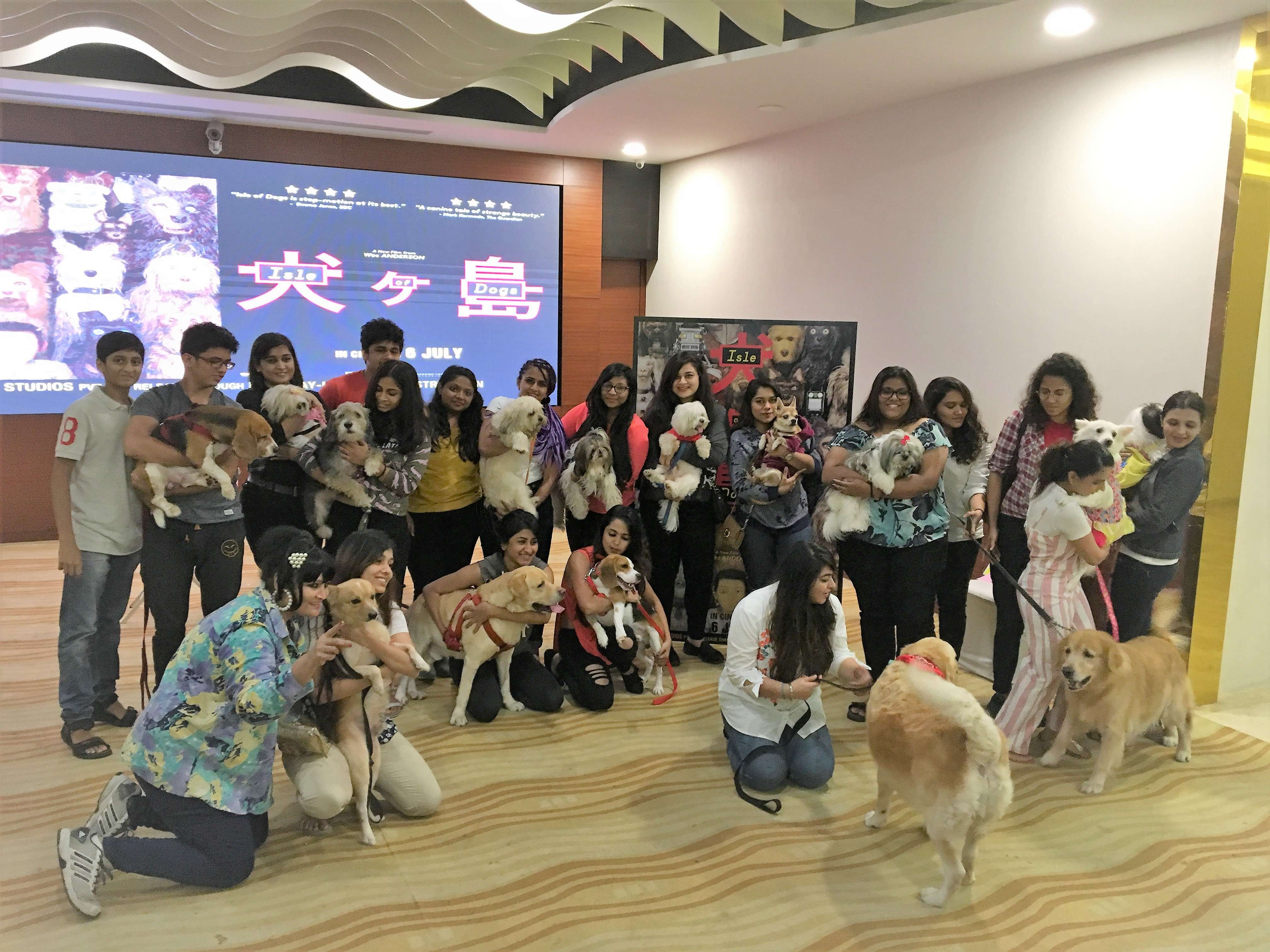 Isle of Dogs host a special screening for Dog lovers.