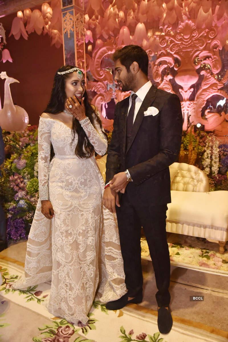 Shriya Bhupal and Anindith Reddy's grand wedding ceremony