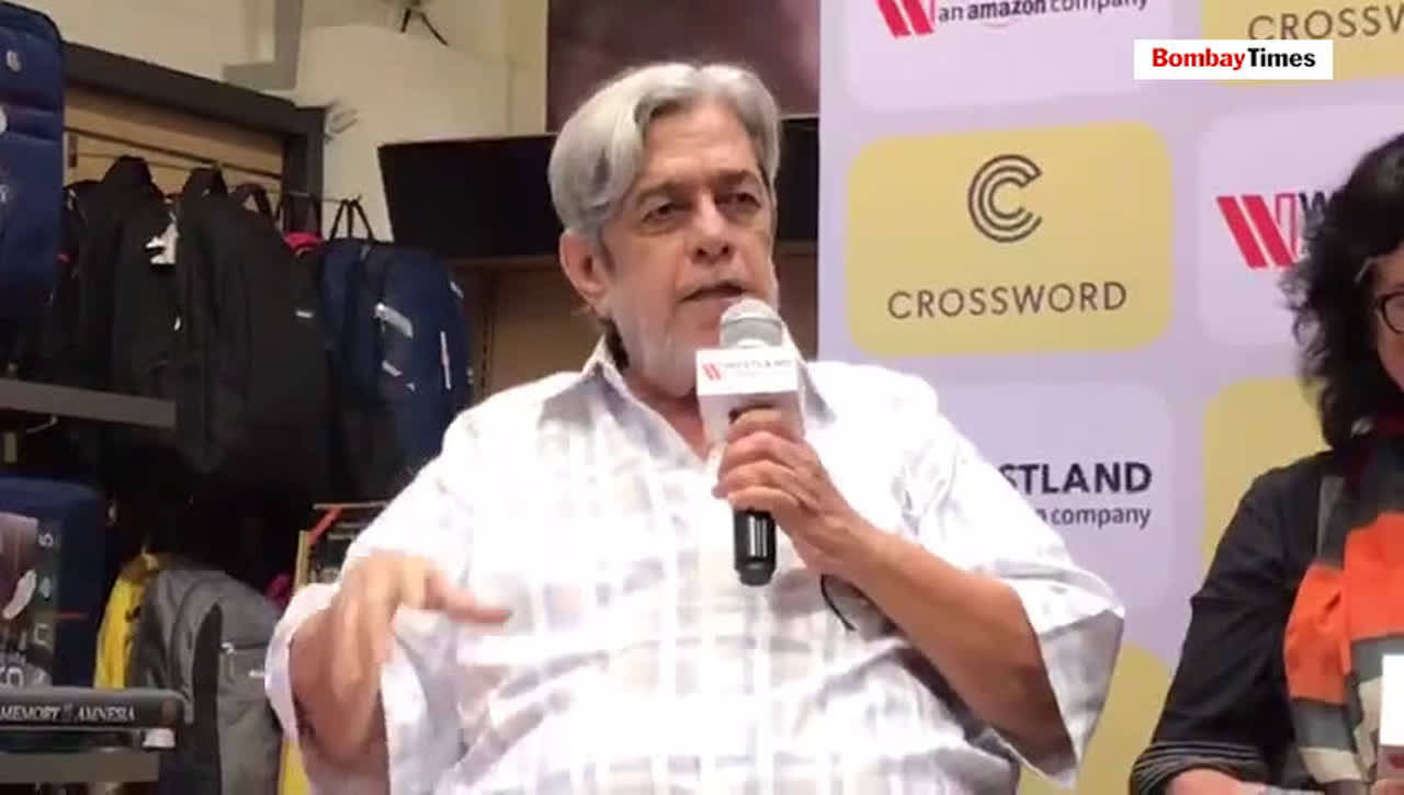 Saeed Akhtar Mirza's book launch event