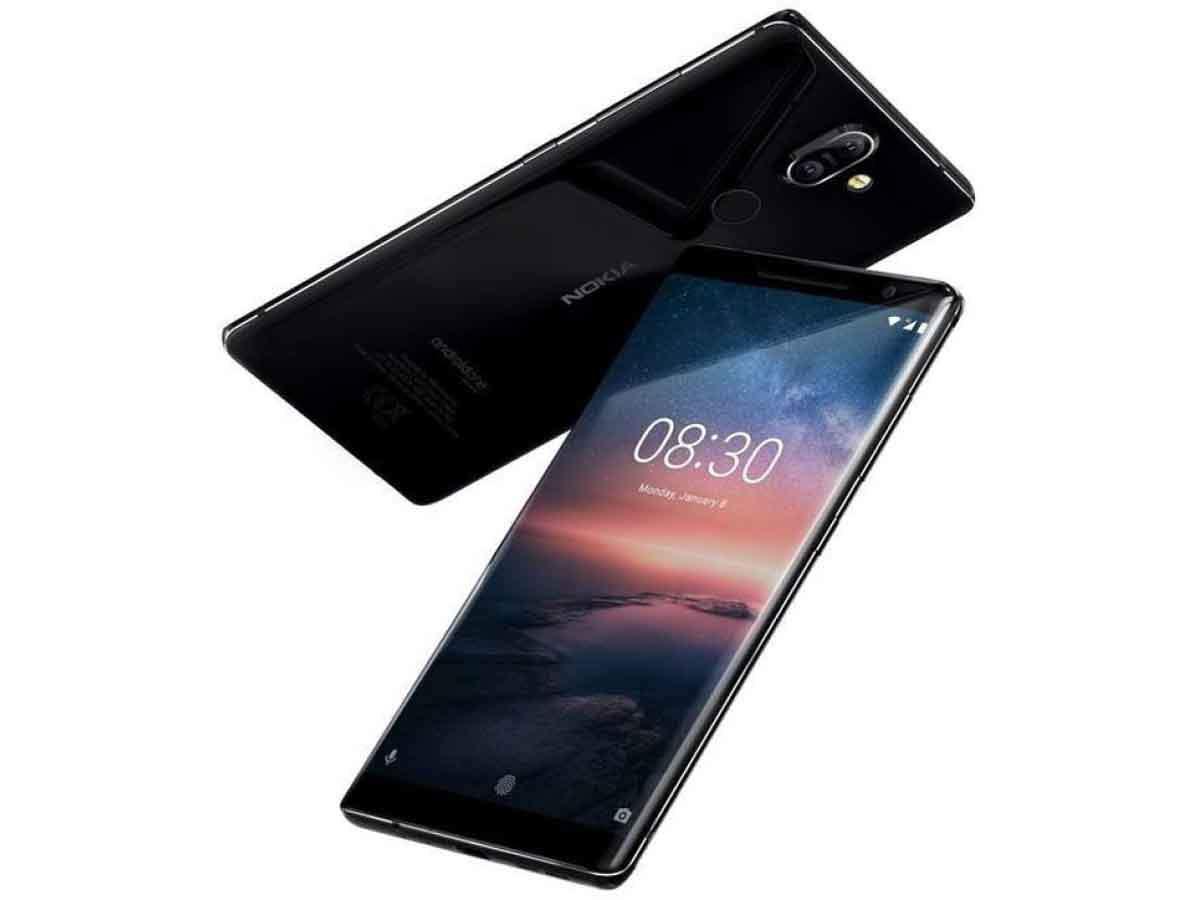 purchase cheap b75eb e9350 Nokia 8 Sirocco - Rs 49,999 | Gadgets Now