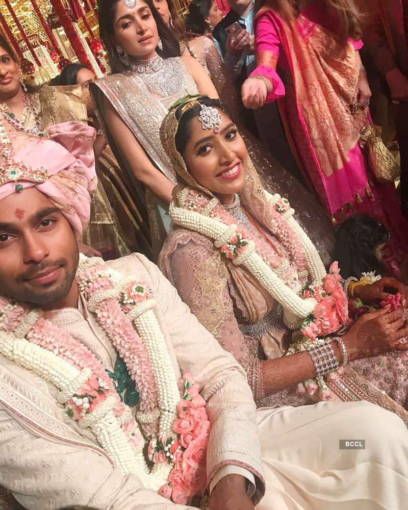 Shriya Bhupal and Anindith Reddy's grand wedding ceremony