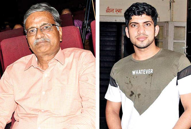 (L) Brig Amulya Mohan (R) Rishabh Tiwari (BCCL/ Farhan Ahmad Siddiqui)