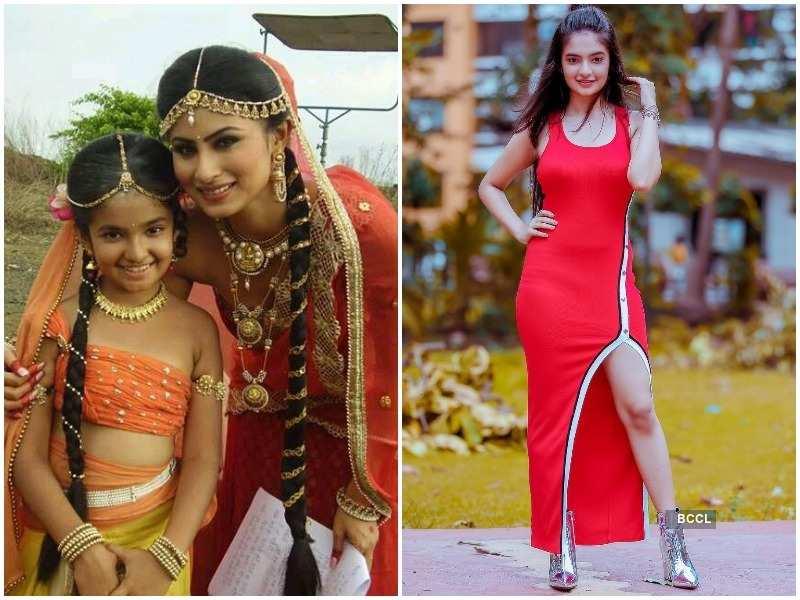 Child actress Anushka Sen aka Parvati of Mahadev is a diva now