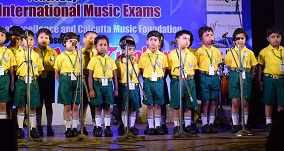 YMF 18- CHILDREN CHOIR PERFORMING AT YUVA MUSIC FESTIVAL
