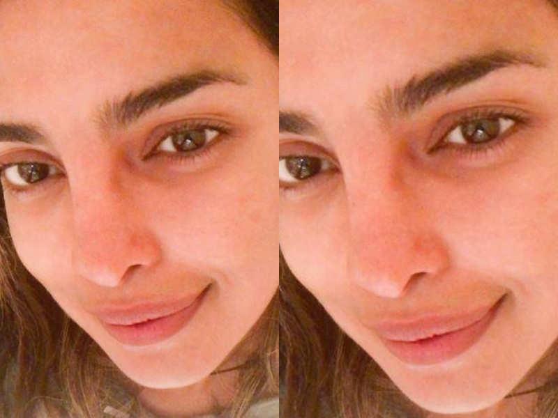 Priyanka Chopra Looks Gorgeous In This Latest No Makeup Selfie