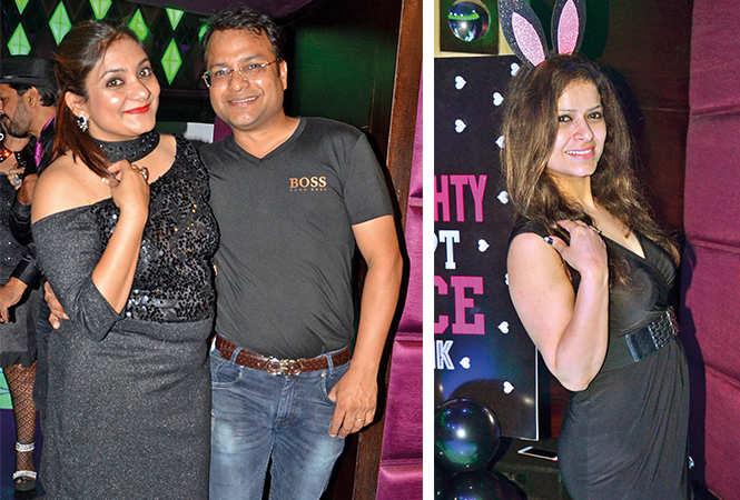 (L) Shivika and Amol (R) Tanvi (BCCL/ IB Singh)