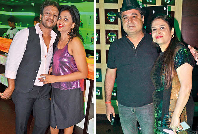 (L) Vikrant and Niti (R) Vishal and Kratika (BCCL/ IB Singh)