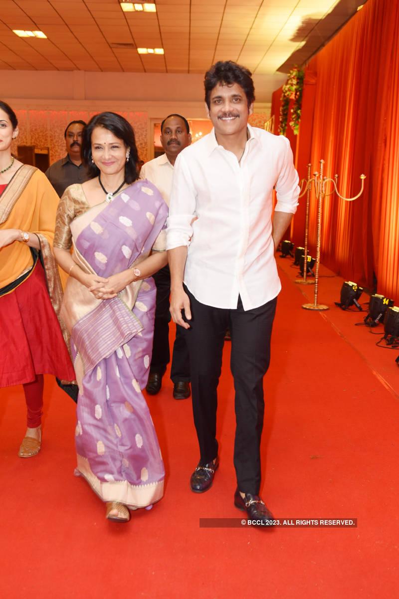 Muzammil Khan and Hamna Mariyam's grand wedding reception