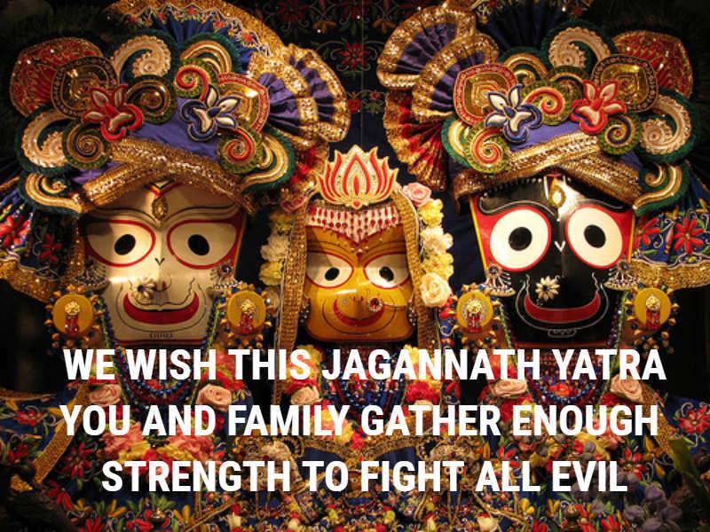 Happy Jagannath Rath Yatra 2018 Status, Messages, Greetings