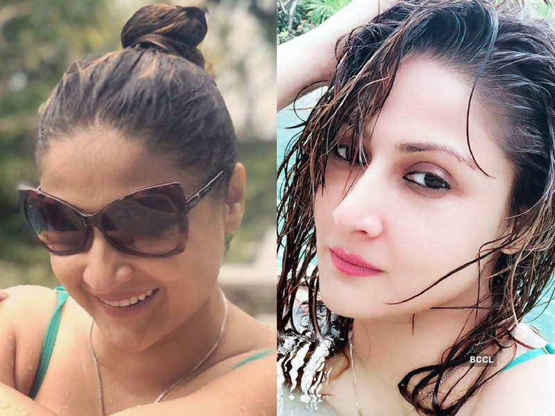 Urvashi Dholakia holidays in Bali post her birthday with friends