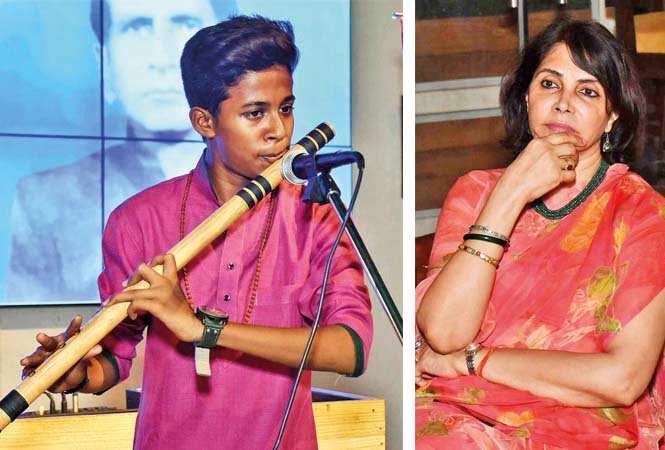 Vineet Sharma  (L) and Kanak Rekha Chauhan (BCCL/ Vishnu Jaiswal)
