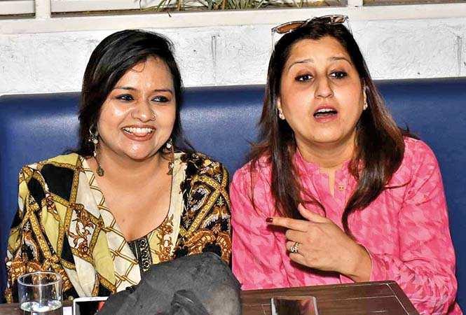 Aisha Ayub (L) and Sumna Rizvi (BCCL/ Vishnu Jaiswal)