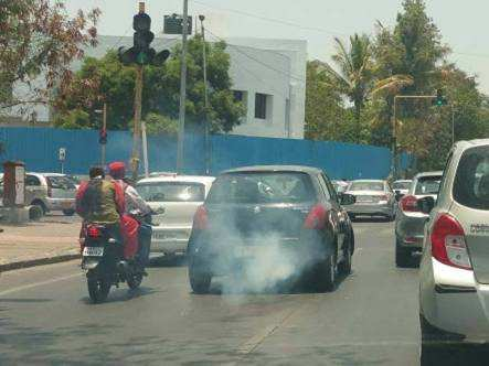vehicle pollution causing health problems - Times of India
