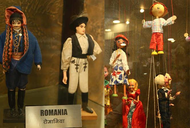 Rare Dolls From Around The World At Jaipurs Refurbished Museum