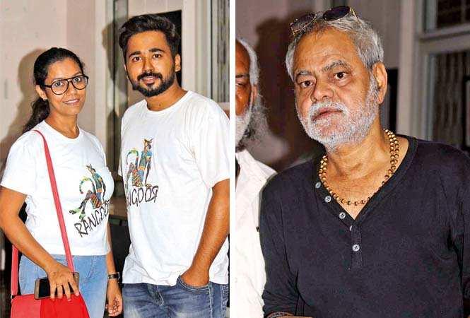(L) Sanchita and Sumilan (R) Sanjay Mishra (BCCL/ Arvind Kumar)