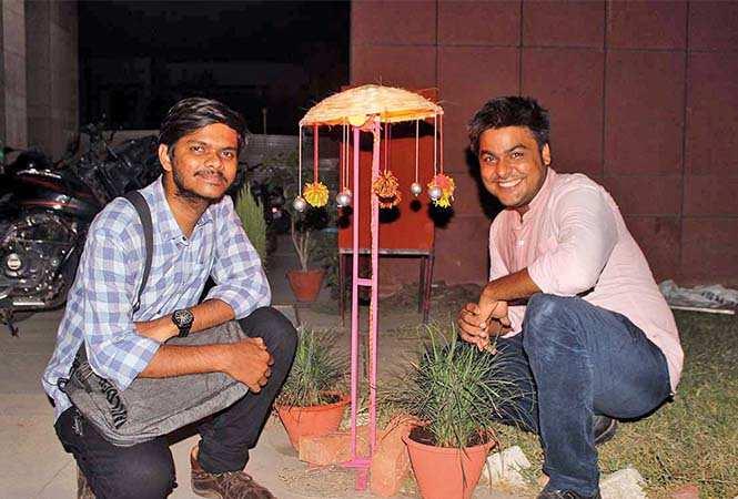 Gautam and Sidharth (BCCL/ Arvind Kumar)