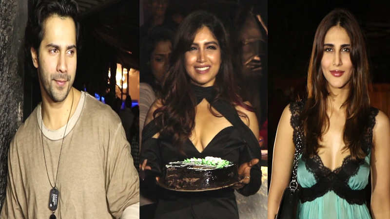 Varun Dhawan, Karan Johar, Vaani Kapoor and other Bollywood celebs attend Bhumi Pednekar's birthday bash