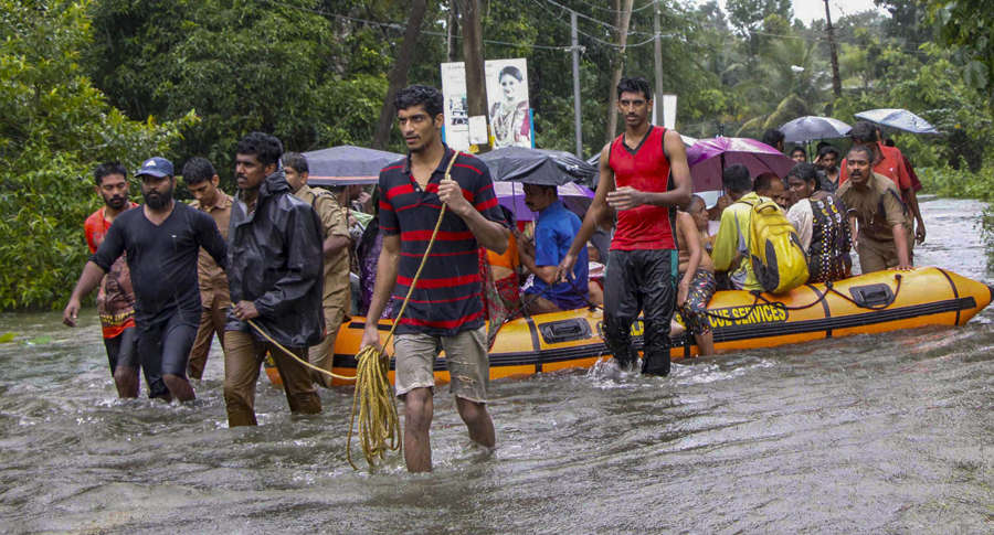 Incessant rains create flood-like situation in several parts of India