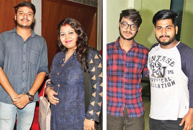(L) Shiva Sharma and Jyotsna Aditya Gaur  (R) Abhishek Choudhary and Vishal (BCCL/ Aditya Yadav)