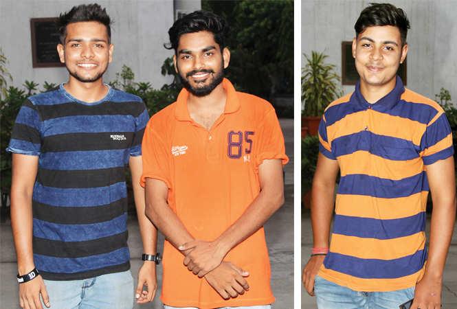 (L) Devang Tewari and Himanshu Singh (R) Hemant Singh (BCCL/ Aditya Yadav)