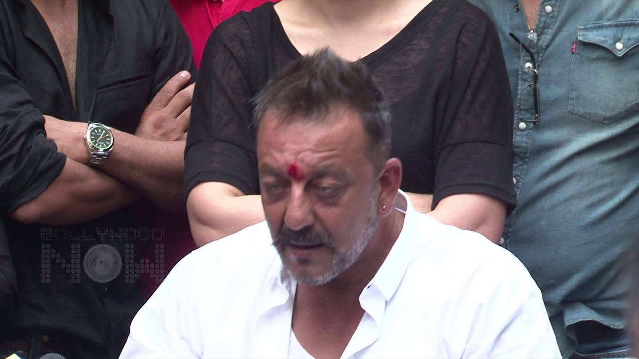 Sanjay Dutt's sister Namrata Dutt angry with Ram Gopal Varma for announcing his version of 'Sanju'