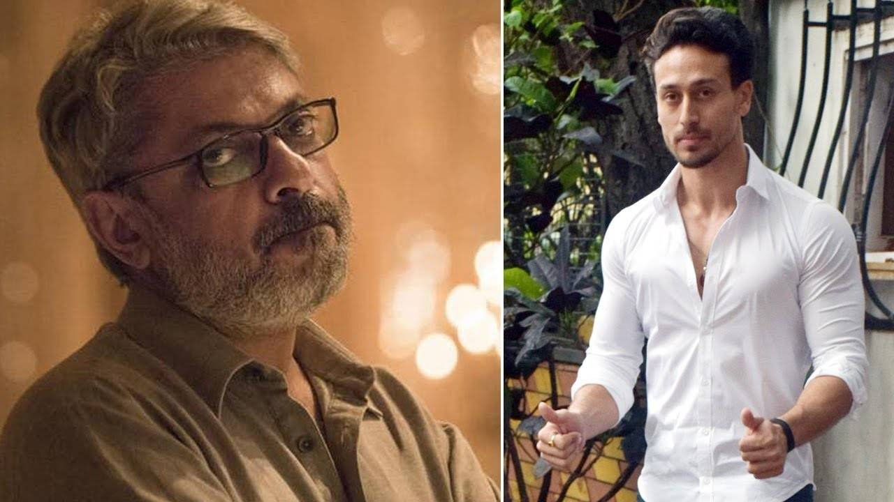 Tiger Shroff visits Sanjay Leela Bhansali at his office