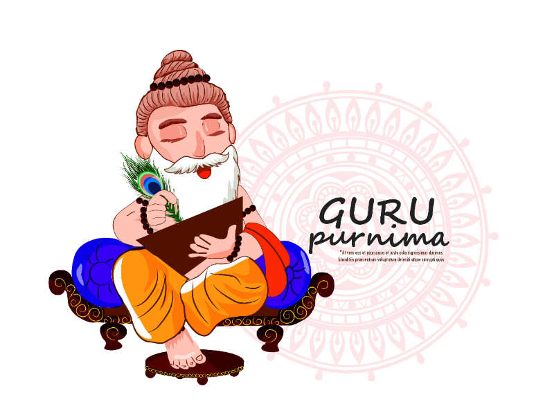 Guru Purnima card wishes
