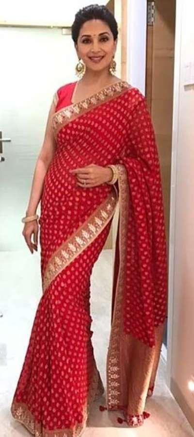 10 sarees Madhuri Dixit wore to perfection | Hindi Movie