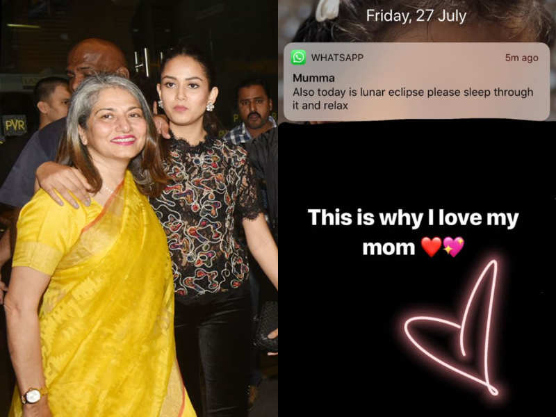 Mira Rajput Sums In One Picture Why She Loves Her Mom So Much