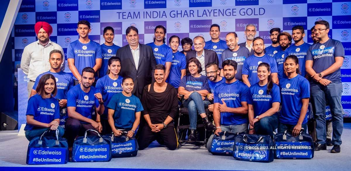 Akshay Kumar meets with Asian Games contenders
