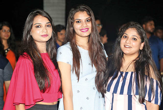 (L-R) Ankita Nigam, Aanchal Gupta and Ankita (BCCL/ Aditya Yadav)