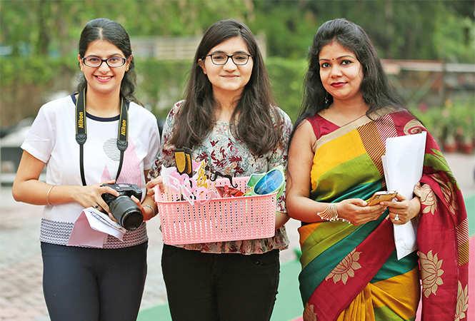 (L-R) Aishani, Shivani and Arti (BCCL/ Aditya Yadav)