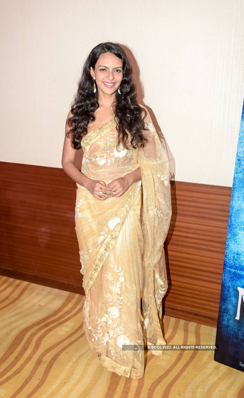 Bidita Bag Smiles For The Camera During The Teaser Launch Of Bollywood Film Moksh To Maya In Mumbai On July 31 2018 Photogallery